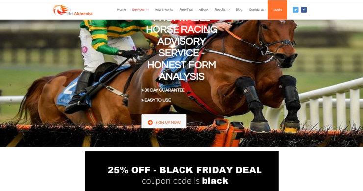 Bet Alchemist 25% off – Black Friday Deal