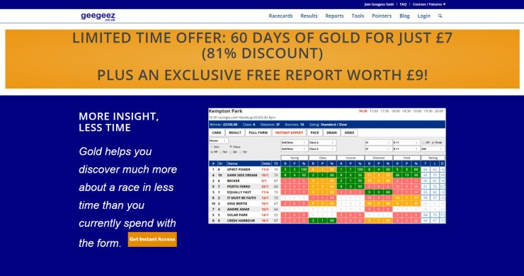 60 Days of GeeGeez Gold For £7