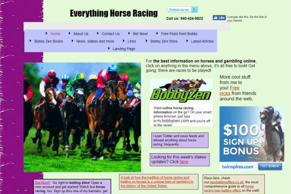 US Horse Racing
