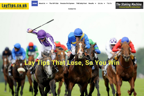 Lay Betting - Bet To Lose