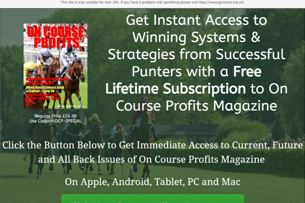 Horse Bet Research