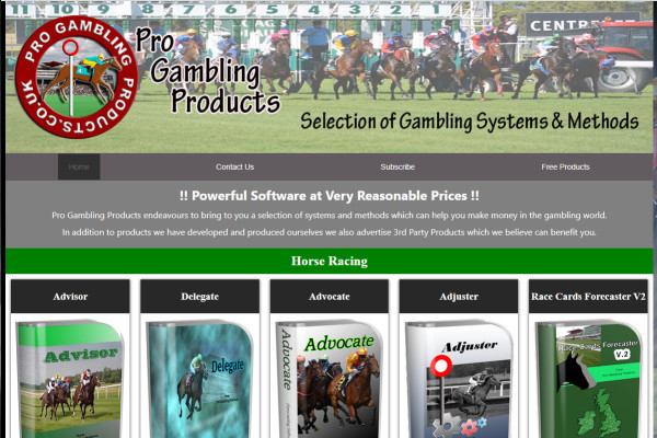 Pro Gambling Products