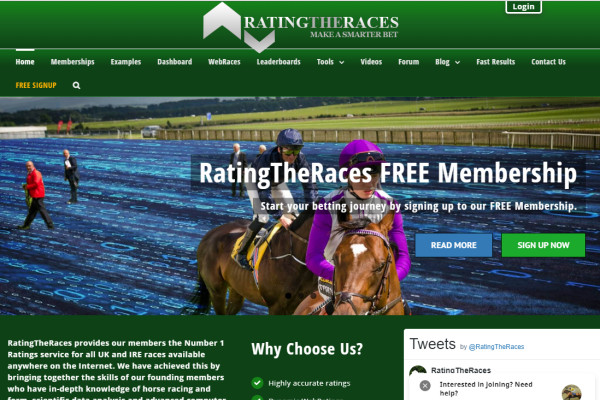 Horse Racing Form Ratings